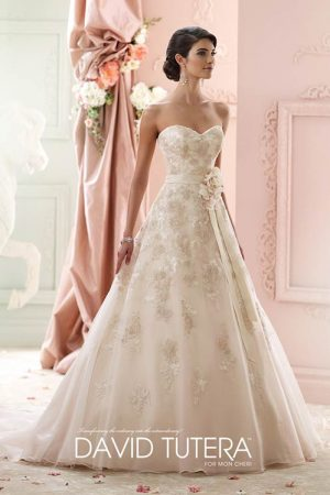 David Tutera Mon Cheri 215269 Wedding dresses Mirfield