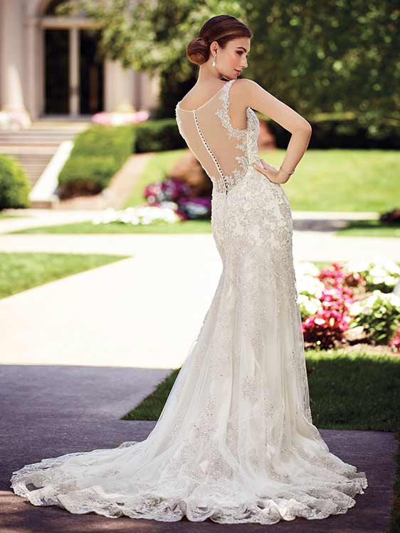 David Tutera Mon Cheri 117275 back