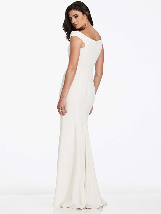 Dessy Bridesmaid 3016 rear