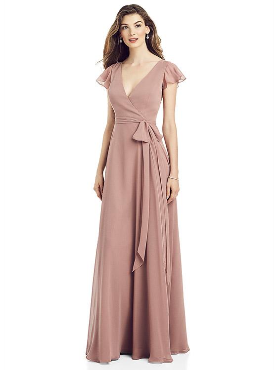 Dessy Bridesmaid Dress 6817